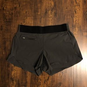 Athleta | gray shorts